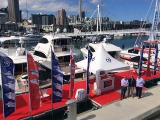 Two New Zealand Premieres from Riviera at Auckland On Water Boat Show