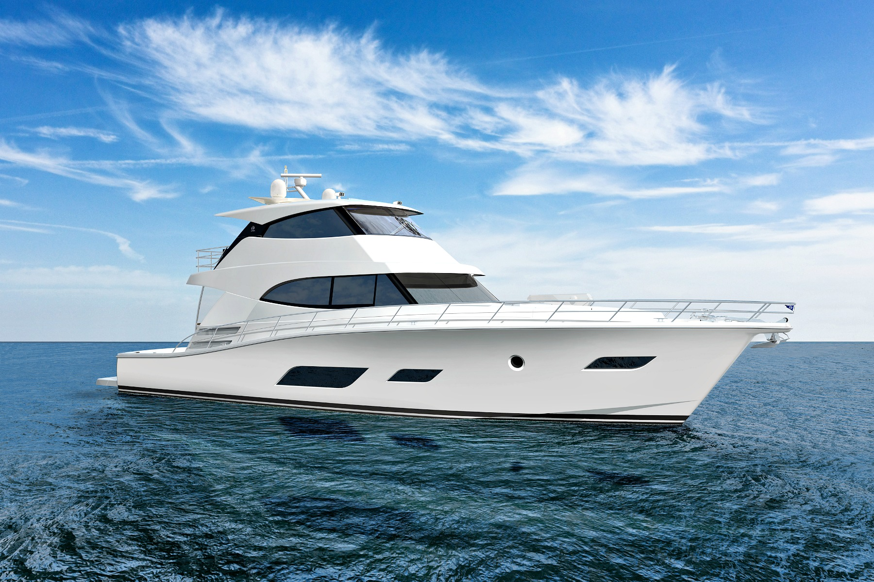 72 Sports Motor Yacht from Riviera