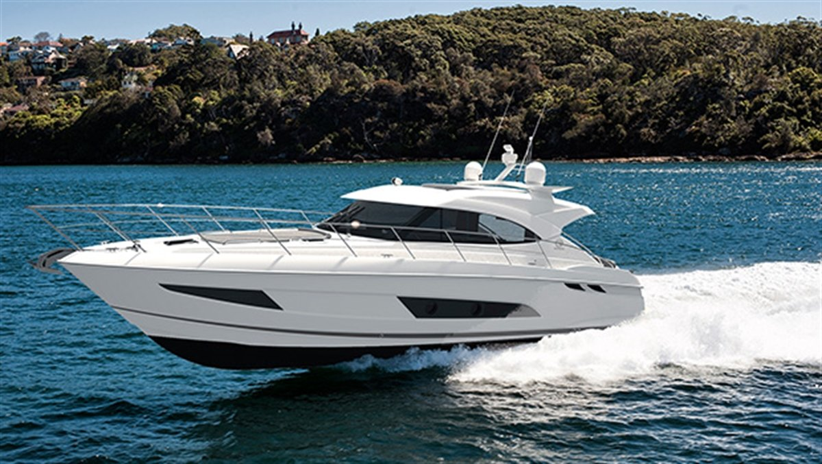 Riviera 4800 Sport Yacht from SYS