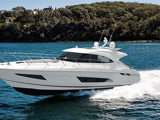 World Premiere of the Riviera 4800 Sport Yacht takes center stage at Sydney International Boat Show
