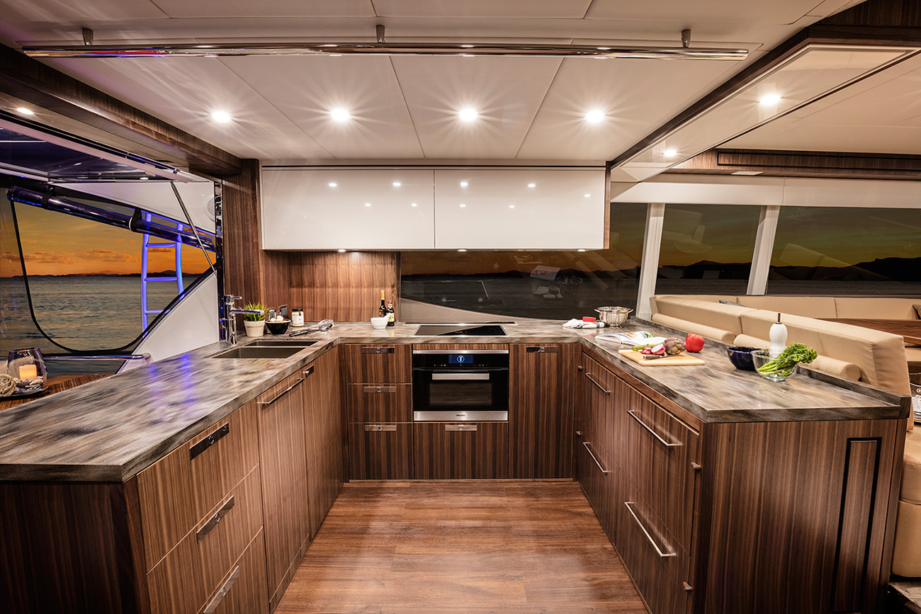 Flybridge Yachts from Riviera