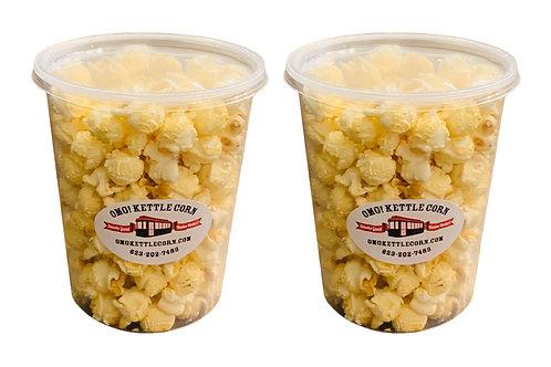 Kettle Corn - 2 tub pack