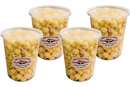 Kettle Corn - 4 tub pack