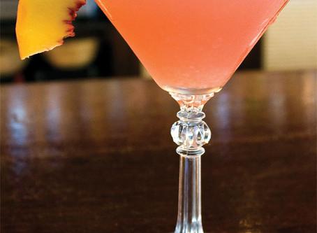 Recipe: Peach passion Martini