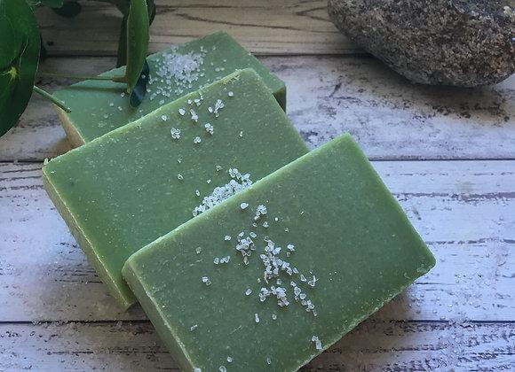 Green Tea Scrub Bar