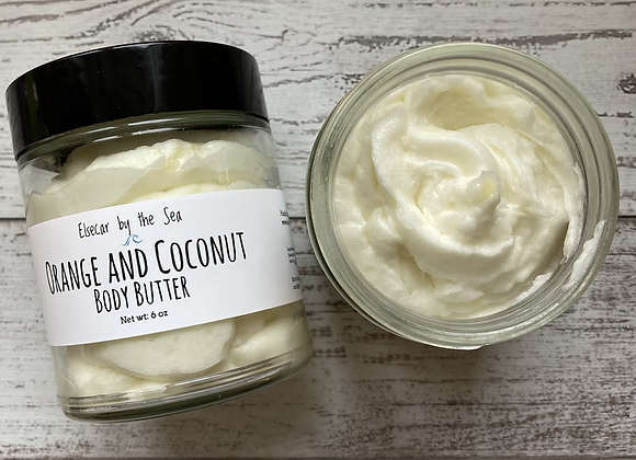 Orange Coconut Body Butter (6 oz)