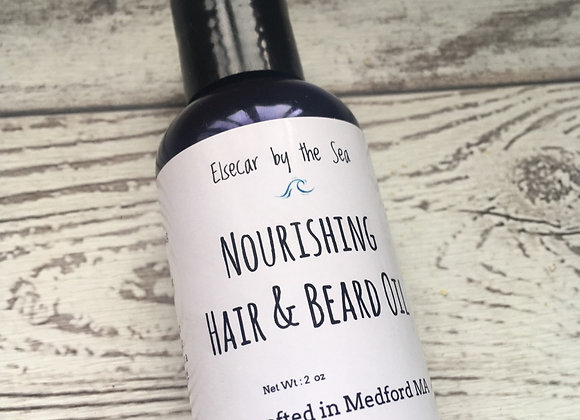 Nourishing Beard and Hair Oil