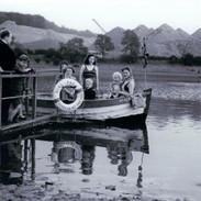 girls in boat