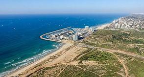 נוף חוף התכלת