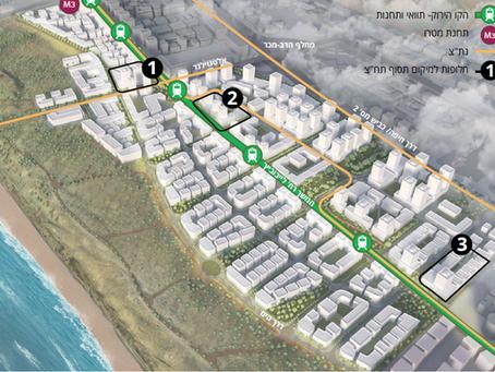 המלצות לבעלי קרקע שחלקתם נמצאת בתוואי הקו הירוק של הרכבת הקלה במתחם חוף התכלת הרצליה