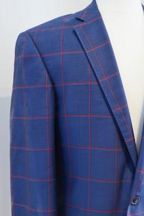 Custom Plaid Jacket