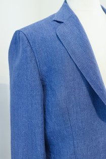Unconstructed Linen Shirt Jacket