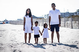 The Dharia Family @ Cape May Beach
