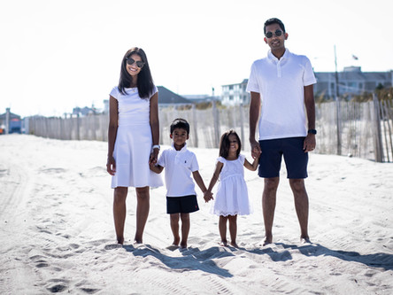 The Dharia Family: Cape May Portrait Session