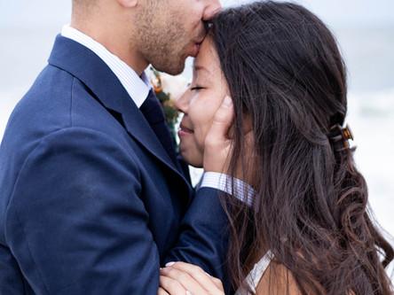 Aixia + William: Intimate Cape May Wedding