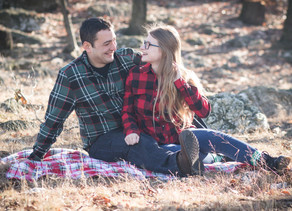 Holiday Portrait Session | Emily + Angel