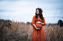 Amelia: Fall Maternity Session