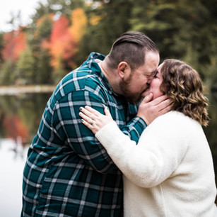 Alicia + Anthony: Engagement Session at Hickory Run State Park