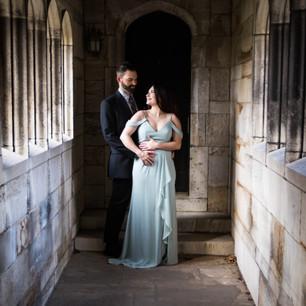 Felicia + Jason: Engagement Session at Hartwood Mansion