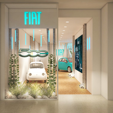 FIAT 500e - Parly II