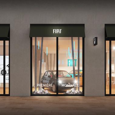 FIAT 500e - Bordeaux