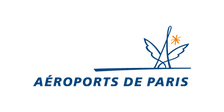 ADP Aéroports de Paris retail identité visuelle marque logo 3D signalétique enseigne drapeau déploiement  modélisation 3D rendu  illustration 3D perspective rough 3D
