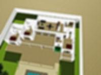 Vue 3D de votre villa