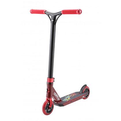 Sacrifice Mini Flyter V2 Stunt Scooter - Red/Black Graffiti