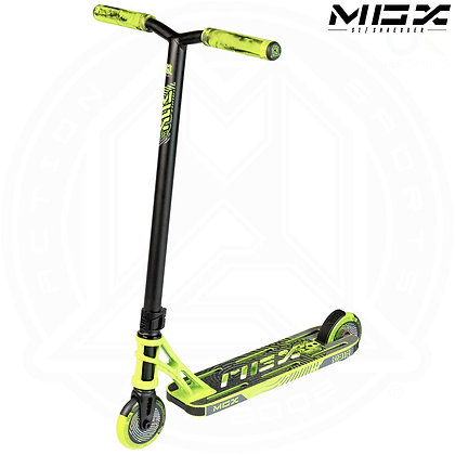 MGP MGX S1 Shredder Stunt Scooter - Lime/Black