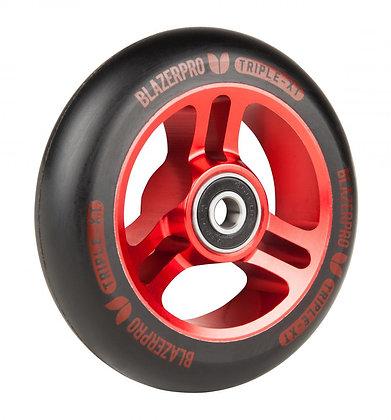 Blazer Pro Triple XT 100mm Wheel - Black/Red