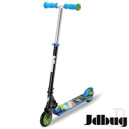 JD Bug EZ Folding Classic Scooter - Black/Blue