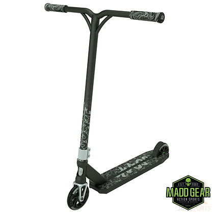 Madd Gear kick kaos V2 Stunt Scooter - Black/Silver