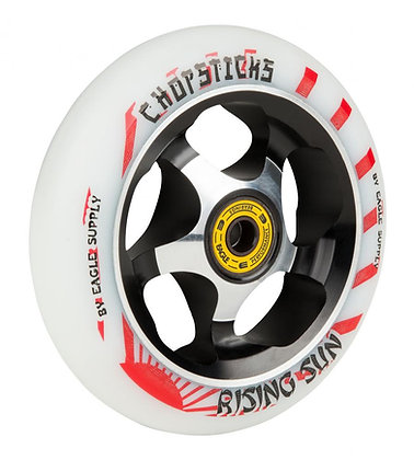 Chopstick Rising Sun Wheel 110mm - White