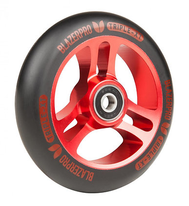 Blazer Pro Triple XT 110mm Wheel - Black/Red