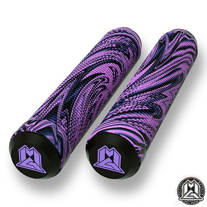 Mgp Swirl Grind Grips 180mm - Purple/Black