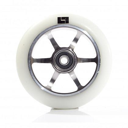 Logic 6 Spoke Classic Core - White/Titanium