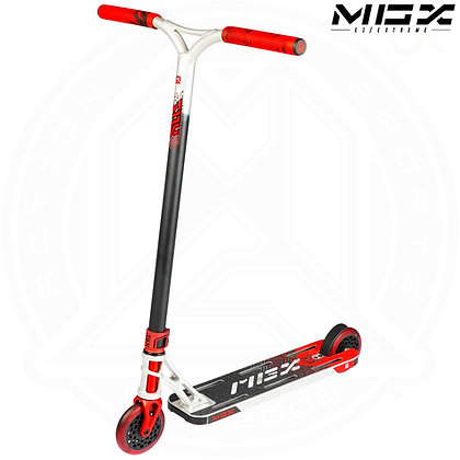 MGP MGX E1 - Extreme Stunt Scooter 5.0'' - Silver/Red