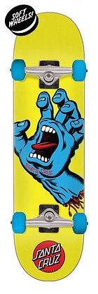 Santa Cruz Screaming Hand Complete Skateboard 7.75'' - Yellow