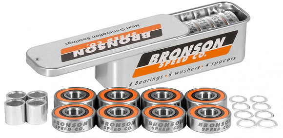 Bronson Speed Co. Bearings G3 (Pack of 8)