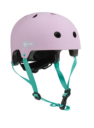 Sfr Adjustable Kids Helmet Xxxs/xs - Pink/Green