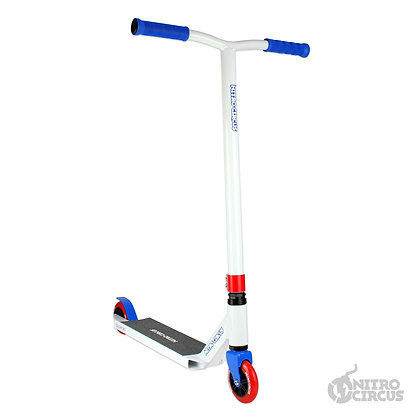 Nitro Circus CX2 Stunt Scooter - White/Blue/Red