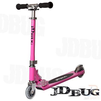 JD Bug Original Street Series Scooter - Pastel Pink