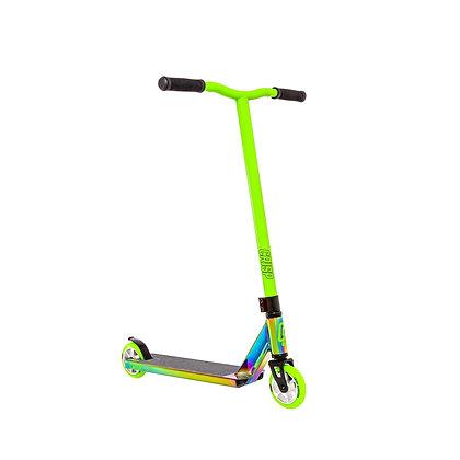 Crisp Surge Stunt Scooter - Colour Chrome/Green