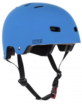 Bullet Deluxe Helmet T35 Youth 49-54cm - Matt Blue
