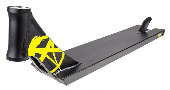 Addict Defender Deck Scooter - Black/Yellow