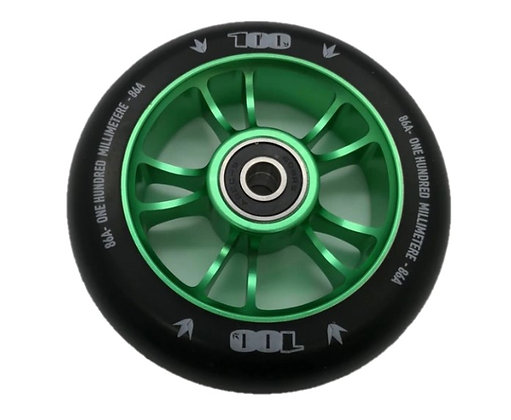 Blunt Envy Colt Wheel 100mm - Green/Black