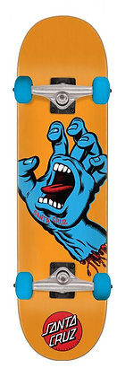 Santa Cruz Screaming Hand Complete Skateboard 7.80'' - Orange