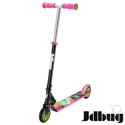 JD Bug EZ Folding Classic Scooter - Black/Pink
