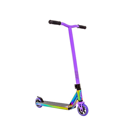 Crisp Surge Stunt Scooter - Colour Chrome/Purple
