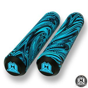 Mgp Swirl Grind Grips 180mm - Blue/black
